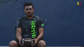 Jos� Maltos contin�a trabajando para lograr estar en elFutbol Americano Profesional