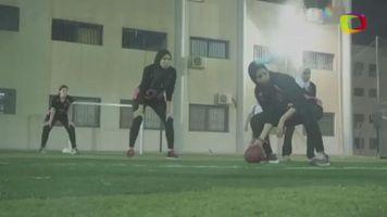 Las mujeres egipcias enfrentan estereotipos con el primer equipo de f�tbol americano