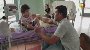 Rasp�n en rodilla genera crisis de salud de ni�a venezolana